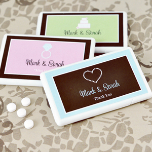 Personalized Theme Mini Mint Favors