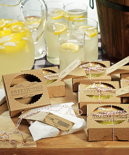 """SWEETIE PIES"" MINI PIE PACKAGING KITS"