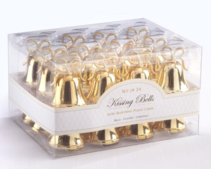 Kissing Bells Place Card/Photo Holders (set of 24)
