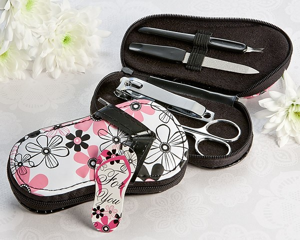 """Flirty"" Flip Flop Pedicure Set"