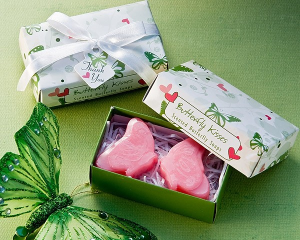 """Butterfly Kisses"" Scented Soaps"