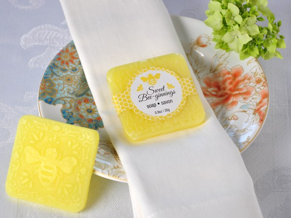 """Sweet Bee-ginnings"" Scented Soap"