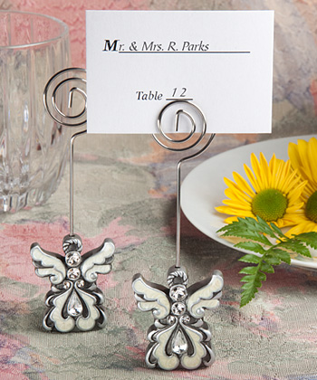 Angel Design Place Card/Photo Holders