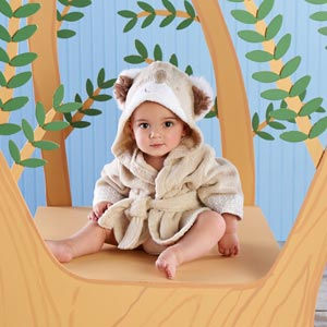 Cuddly Clean Koala Hooded Spa Robe