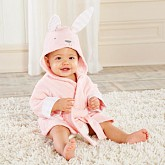 Baby's Bathtime Bunny Hooded Spa Robe