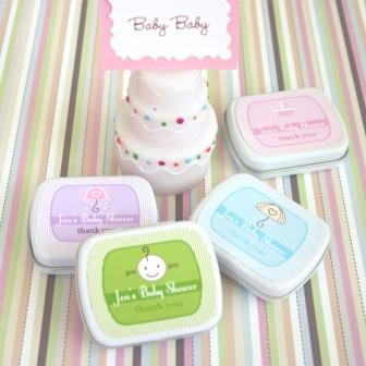Baby Shower Mint Tins  shower favors (set of 24)