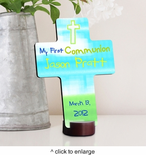 Bright Blessings First Communion Cross