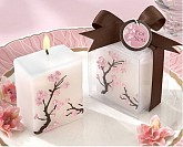 """Cherry Blossom Elegance"" Mini Candle (Set of Four)"