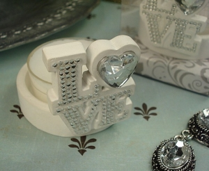 Deluxe tealight holder love design