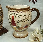 Pitcher Tuscan Harvest Design