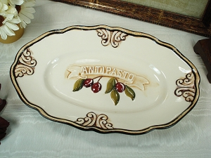 Oval Platter Antipasto Design
