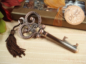 Antique Skeleton Key Bottle opener