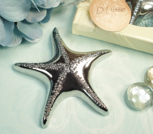 Silver Starfish Bottle opener