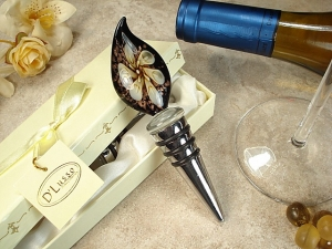 Murano Bottle Stopper With Calli