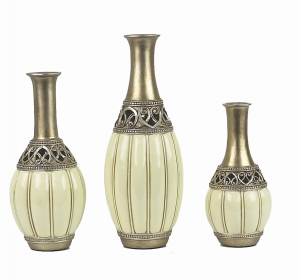 Juliana Collection Three Vase Set