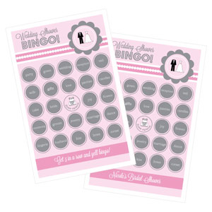 Wedding Shower Bingo (set of 16)