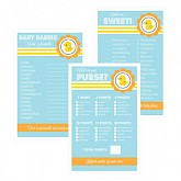 Baby Shower Games (Set of 10) - Rubber Ducky