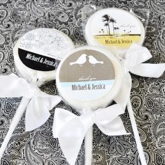 Elite Design Personalized Lollipop Favors