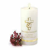 Personalized First Communion Candle