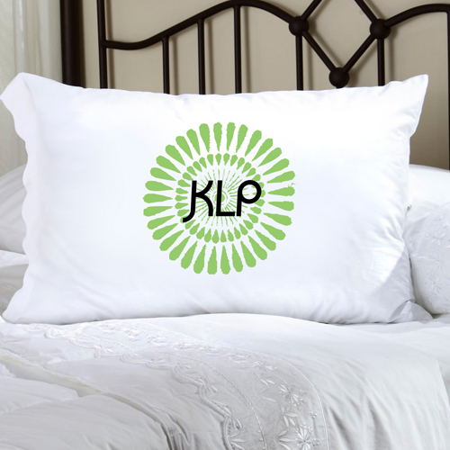 Personalized Felicity Bouncy Bouquet Pillow Case