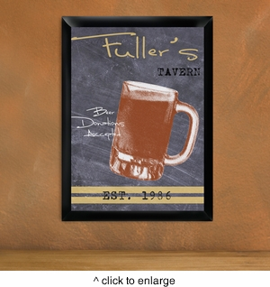 Personalized Mug Tavern Sign