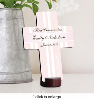 God Bless the Children First Communion Cross