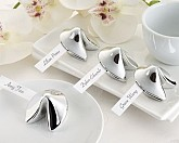 """Good Fortune"" Fortune Cookie Place Card Holder (Set of 4)"