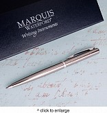 Personalized Waterford Arcadia Ballpoint Pen - Gunmetal