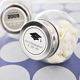 """""""Hats off to You"""" Graduation Candy Jars"""