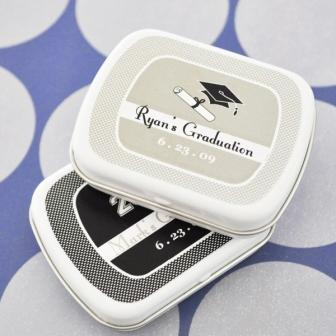 """Hats off to You"" Graduation Mint Tins"