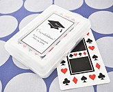 """""""Hats off to You"""" Graduation Playing Cards"""