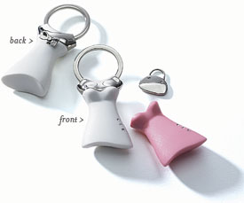 Interchangeable Dress Key Holder