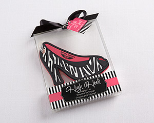 "Glam Girl ""High Heel"" Luggage Tag Girls Party Favors"