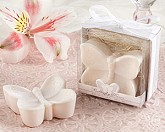 """Butterfly Kisses"" Lightly Scented Butterfly Soap Wedding Favors"
