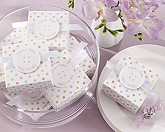"""""""Cute As a Button"""" Baby Shower Favor Box (Set of 24)"""