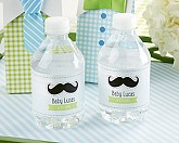 "PERSONALIZED WATER BOTTLE LABELS-KATE'S ""LITTLE MAN"" COLLECTION"