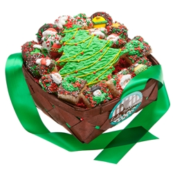 18 pc Christmas Gift Basket