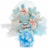 Winter Holidays Cookie Bouquet