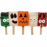 Spooky Crispy Rice Sticks-5 pc ASSORTED