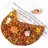 Thanksgiving Giant Fortune Cookie Gift