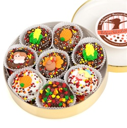 Wheel of 16 Thanksgiving Dipped & Decorated Oreos®