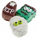 Halloween Decadent Brownies -Individually Wrapped