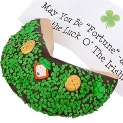 Saint Patrick's Day Giant Fortune Cookie