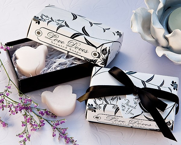 """Love Doves"" Scented Soaps (set of 2)"