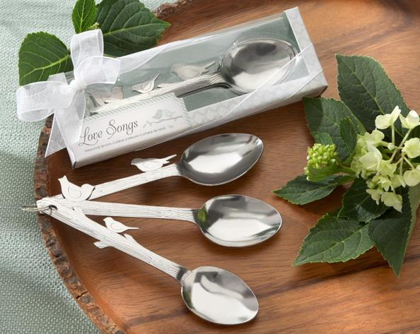 """Love Songs"" Stainless-Steel Measuring Spoons"