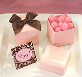 Mini Cube Boxes - Pink (set of 12)