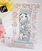 Murano Glass Collection Madonna And Child Plaque (Pink)