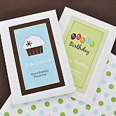 Personalized Birthday Seed Packets