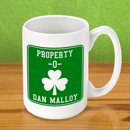 St. Patrick's Day Property O Irish Coffee Mug
