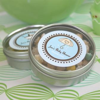 Round Baby Shower Labels (minimum 24 pcs) as low as .78 ea